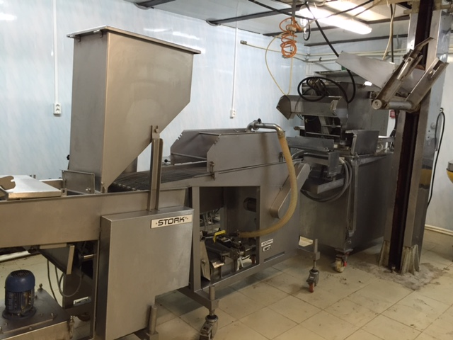 Forming breading line - Koppens 400 and battering machine Stork