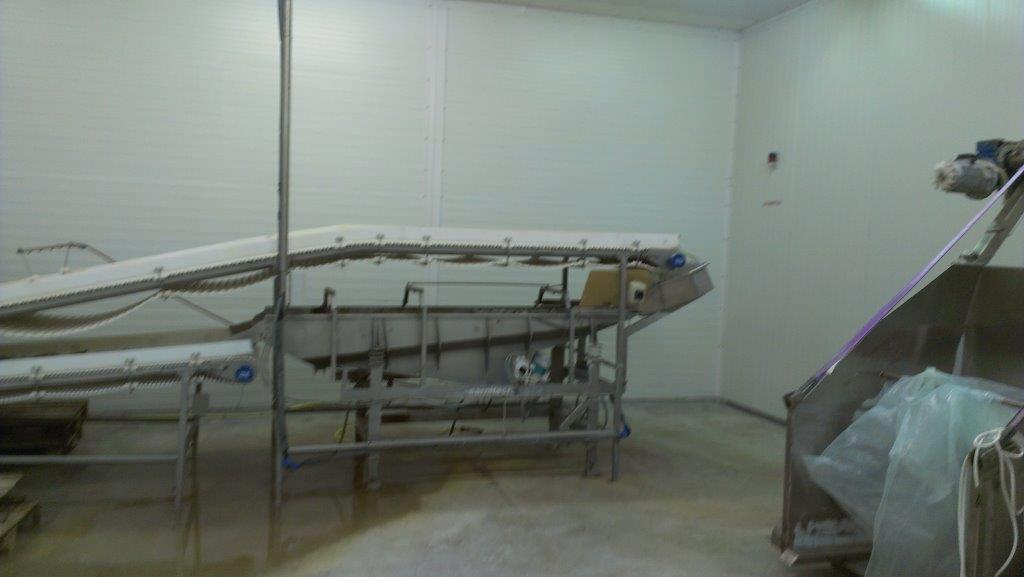 Carnitech Tunnel Freezer with packing line