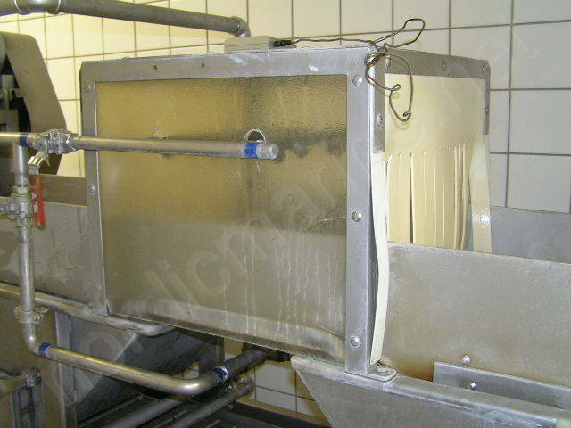 Jevi Omega - Blancher/cooker and cooler for shrimp