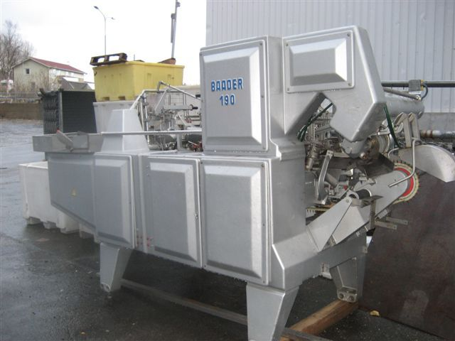 Baader 190 filleting machine for Fish fillet machine