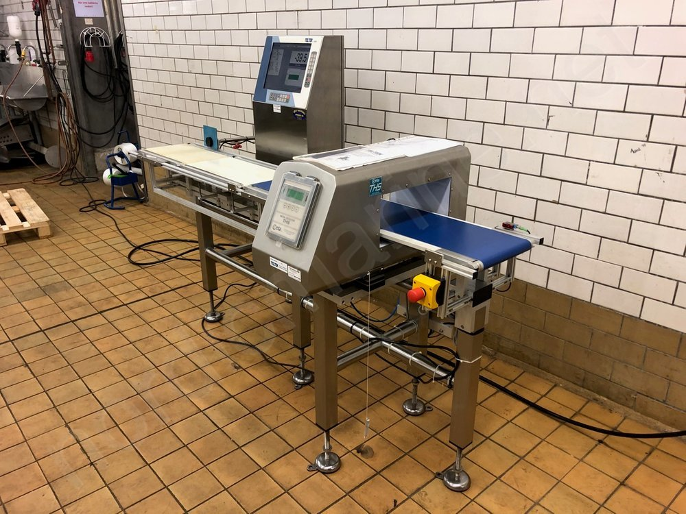 CEIA & TELTEK Metal detector with checkweigher