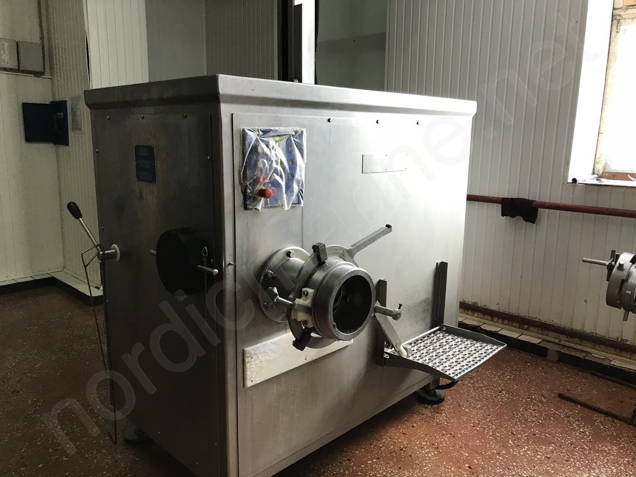 KRAMER + GREBE 200 Grinder for frozen blocks with lifting device