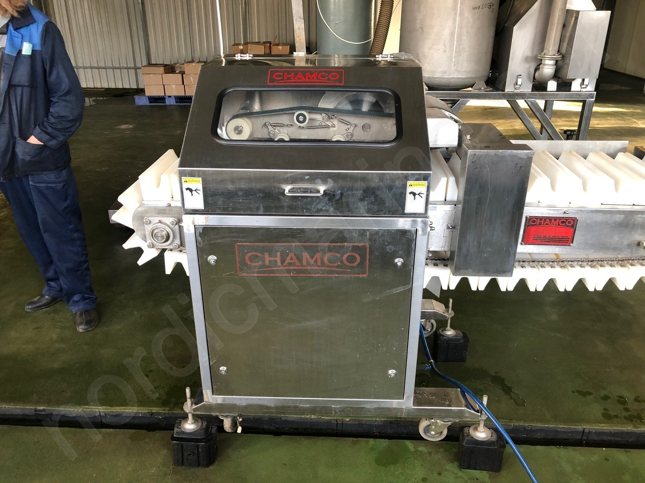 Chamco Beheading and Gutting machine for fish CHHG-300