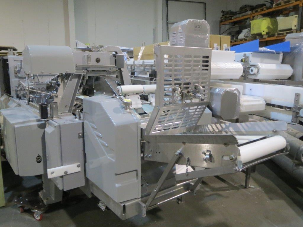 Baader 252 filleting machine with skinning attachment for Fish fillet machine