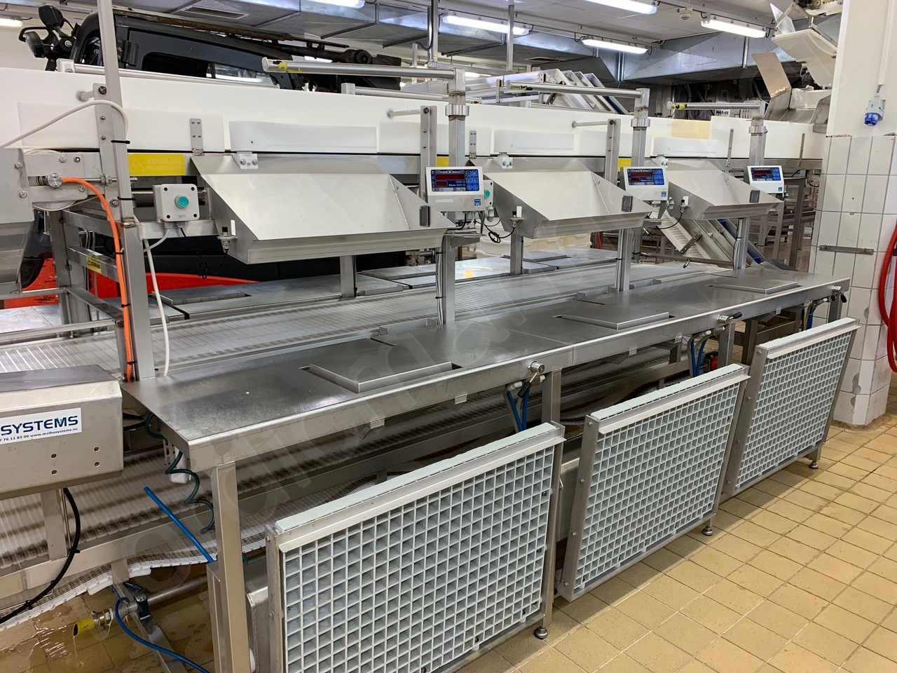 Melbu Fresh fish packing line for 6 stations