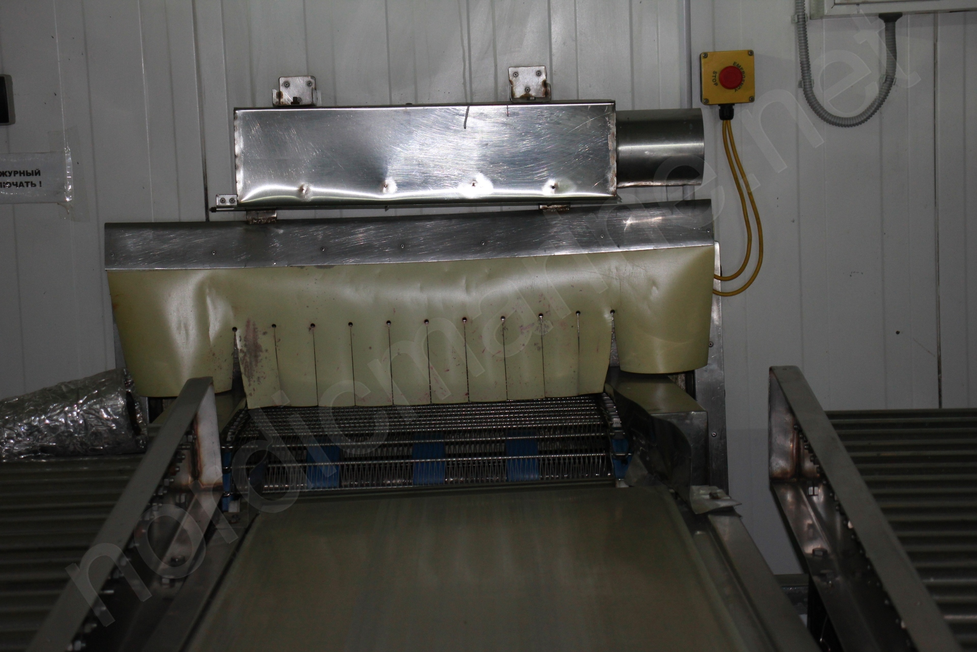 Starfrost Spiral freezer for IQF anf fish products