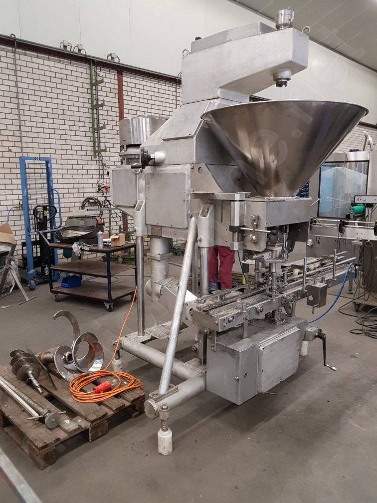 Hema DM - 120 Filling machine for canned pate products